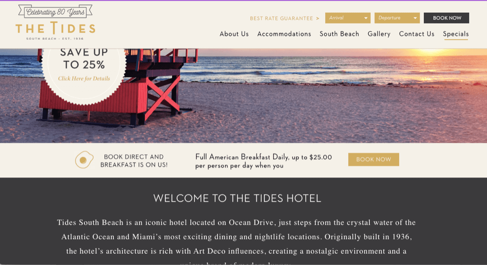 Tides di Miami Beach